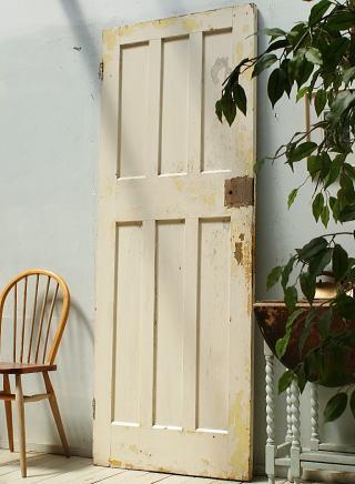 イギリス アンティーク 木製ドア 扉 ディスプレイ 建具 3184