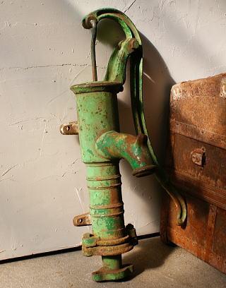 イギリス アンティーク ウォーターポンプ 井戸 ガーデニング 4488