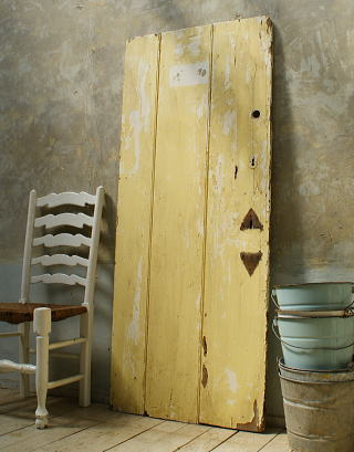 イギリス アンティーク 木製ドア 扉 ディスプレイ 建具 5727