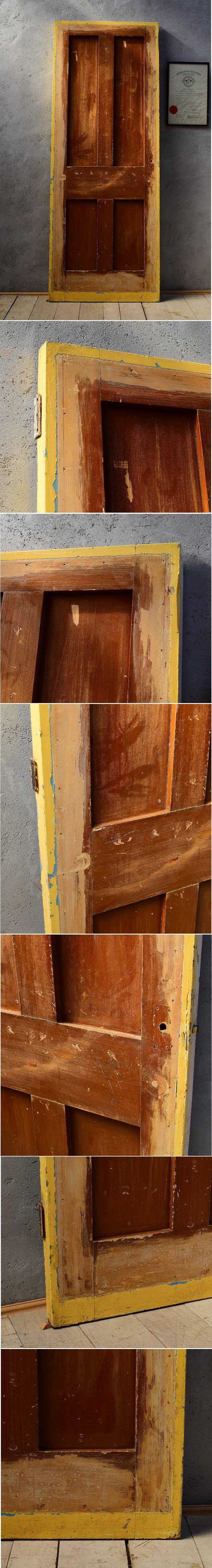 イギリス アンティーク 木製ドア 扉 建具 6550