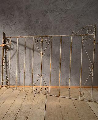 イギリス アンティーク アイアンフェンス ゲート柵 ガーデニング 6551