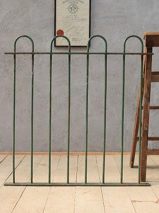 イギリス アンティーク アイアンフェンス ゲート柵 ガーデニング 6593