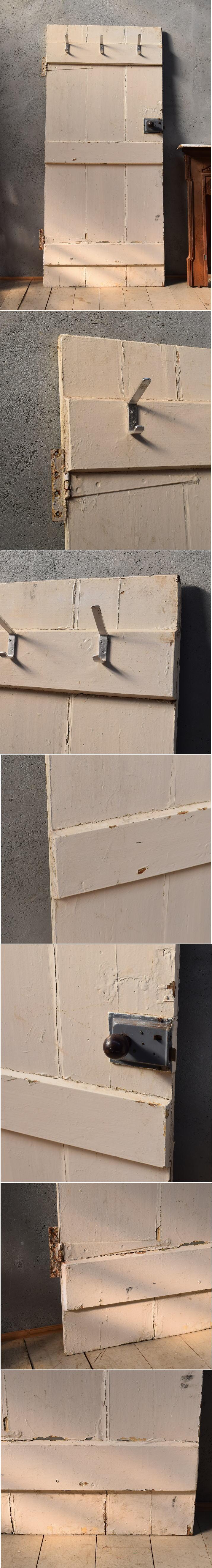 イギリス アンティーク 木製ドア 扉 ディスプレイ 建具 6624