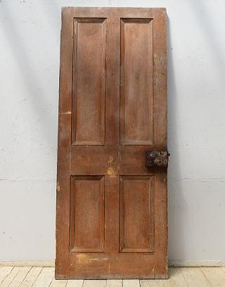イギリス アンティーク 木製ドア 扉 建具 6876