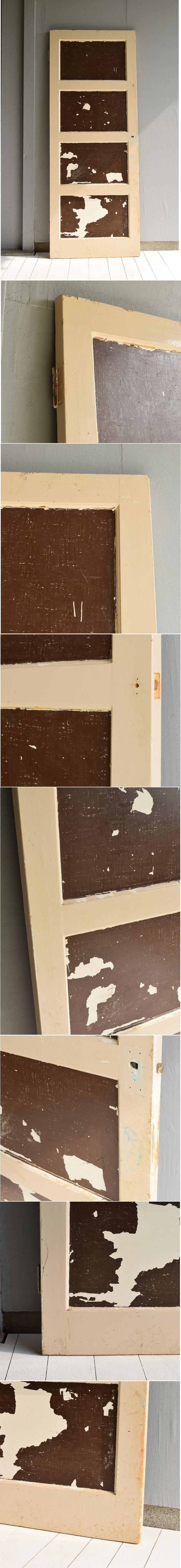 イギリス アンティーク 木製ドア 扉 建具 6901